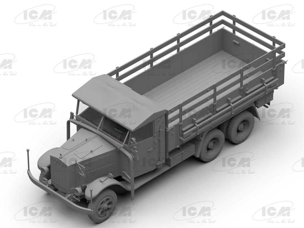 Camiones de la Wehrmacht 3 ejes (Vista 9)