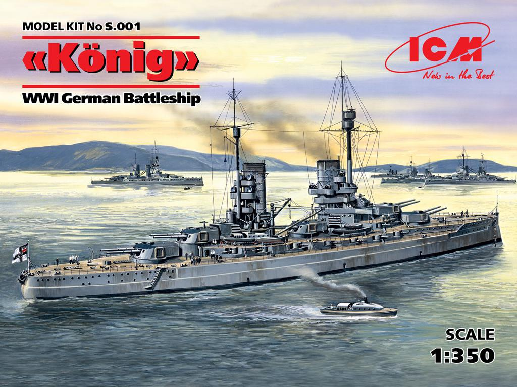 German Battleship Konig (Vista 1)
