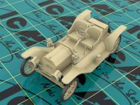 Modelo T 1913 Speedster con conductores (Vista 10)