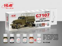 Set de pintura acrílica para G7107 (Vista 2)