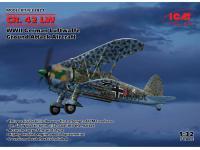 CR. 42 LW , WWII German Luftwaffe Ground Attack Aircraft (Vista 8)