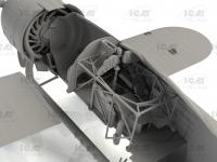CR. 42 LW , WWII German Luftwaffe Ground Attack Aircraft (Vista 13)