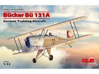 Bucker Bu 131A, German Training Aircraft (Vista 6)