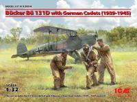 Bucker Bu 131D con cadetes alemanes 1939-1945 (Vista 2)
