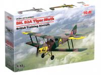 D.H. 82A Tiger Moth, British Training Aircraft (Vista 7)