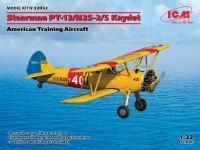 Stearman PT-13/N2S-2/5 Kaydet, American Training Aircraft (Vista 11)