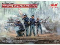Infanteria de la Union Guerra Civil Americana (Vista 6)