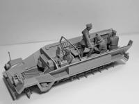 Sd.Kfz.251 / 6 Ausf.A con tripulación (Vista 25)