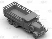 Typ LG3000, WWII German Army Truck (Vista 8)