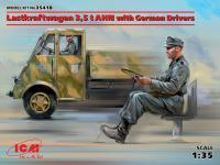 Lastkraftwagen 3,5 t AHN con conductores (Vista 6)
