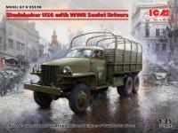 Studebaker US6 con conductores soviéticos (Vista 5)