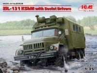 ZiL-131 KShM con conductores soviéticos (Vista 2)