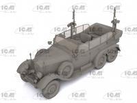 Tipo G4 Partisanenwagen con armamento (Vista 7)