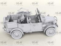 le.gl.Einheitz-Pkw Kfz.4, Vehículo antiaéreo ligero (Vista 11)