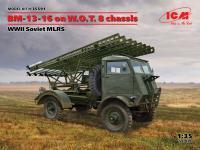 BM-13-16 on W.O.T. 8 chassis, WWII Soviet MLRS (Vista 6)