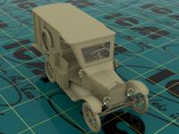Model T 1917 Ambulancia (Vista 11)