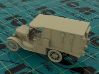 Model T 1917 Ambulancia (Vista 12)