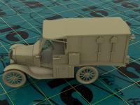Model T 1917 Ambulancia (Vista 14)