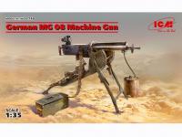 Ametralladora MG08 Alemana (Vista 5)