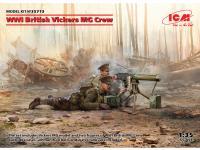 Ametralladora Britanica Vickers y dotacion (Vista 6)