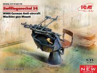 Zwillingssockel 36, cañón antiaéreo alemán (Vista 3)