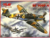 Messerschmitt Bf-109 F-2 (Vista 2)