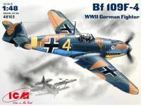 Messerschmitt BF-109 F-4 (Vista 2)