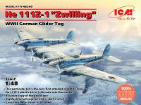 He 111Z-1 Zwilling, WWII German Glider Tug (Vista 5)