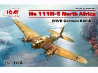 He 111H-6 North Africa (Vista 7)