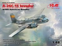 A-26C-15 Invader, WWII American Bomber (Vista 7)