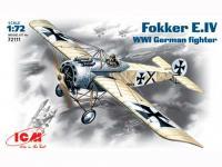 Fokker E-IV WWI German fighter  (Vista 2)
