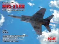 MiG-25 RB, Soviet Reconnaissance Plane (Vista 6)