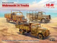 Camiones de la Wehrmacht de 3 tn  (Vista 2)