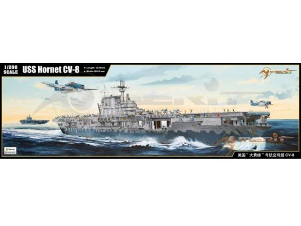 Portaaviones US CV-8 USS  Hornet (Vista 1)