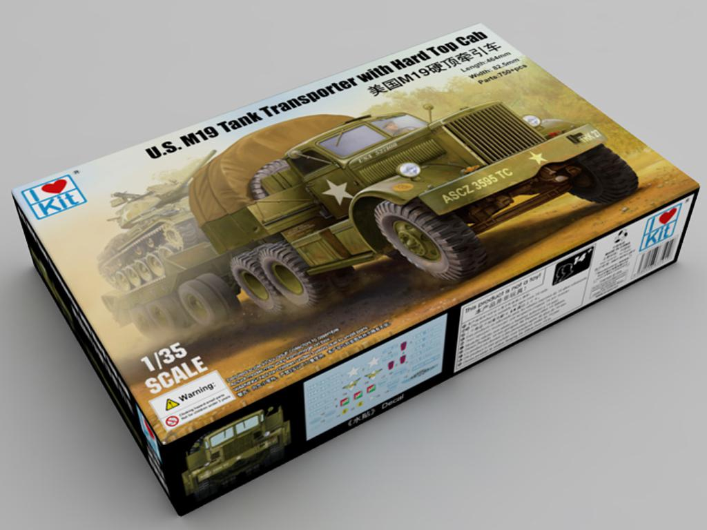 U.S. M19 Tank Transporter With Hard Top Cab (Vista 1)