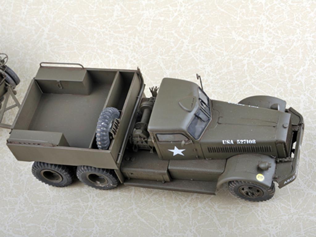 U.S. M19 Tank Transporter With Hard Top Cab (Vista 8)