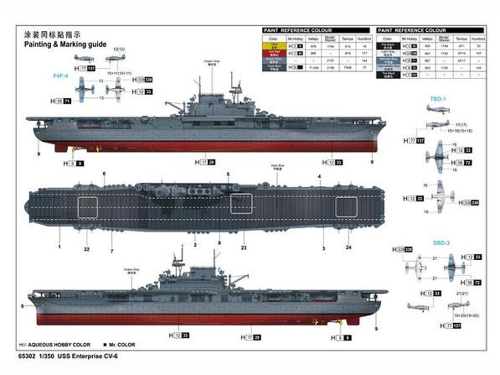 USS Enterprise CV-6 (Vista 2)