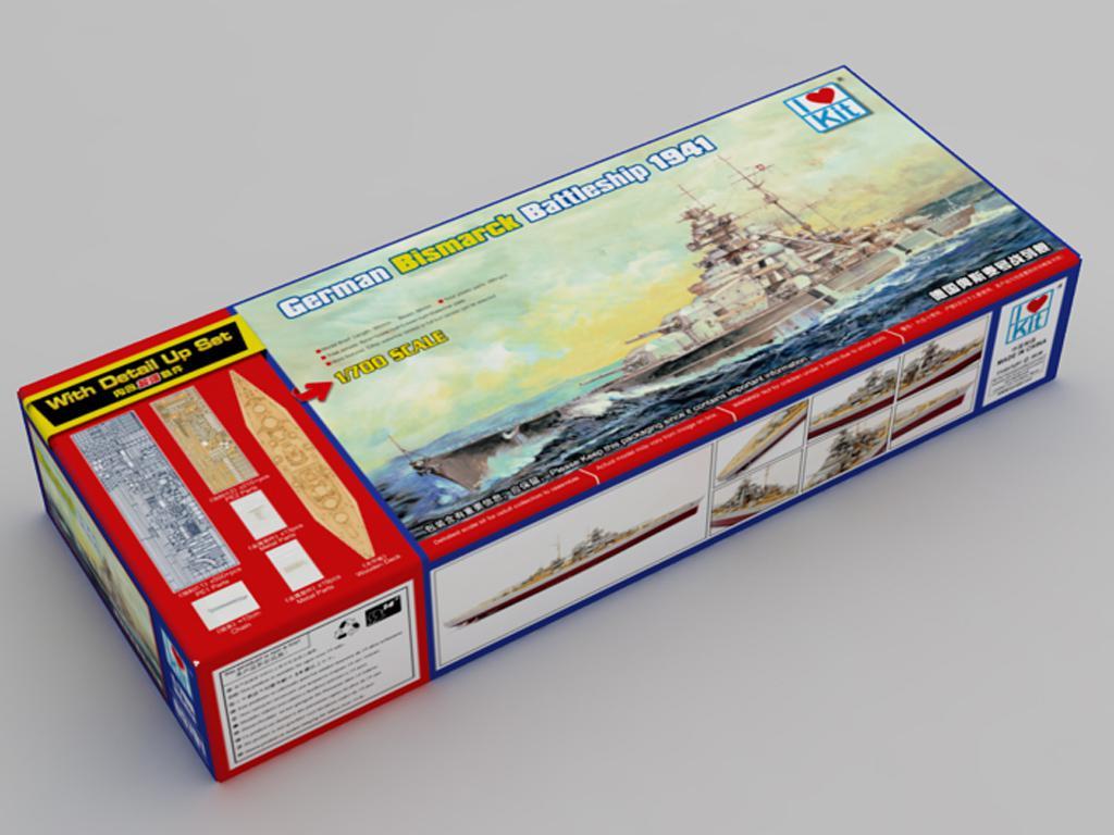 German Bismarck Battleship (Vista 1)