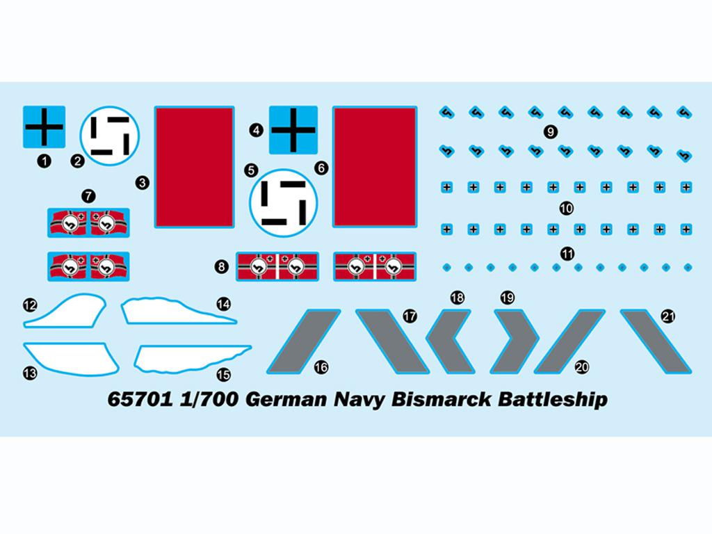 German Bismarck Battleship (Vista 3)