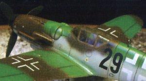 Messerschmitt BF-109 G-6  (Vista 2)