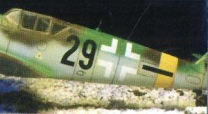 Messerschmitt BF-109 G-6  (Vista 3)