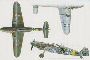 Messerschmitt BF-109 G-6  (Vista 4)
