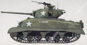 M4-A1 Sherman  (Vista 3)