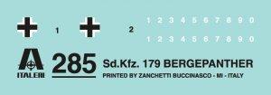 SD. KFZ. 179 Bergepanther  (Vista 2)
