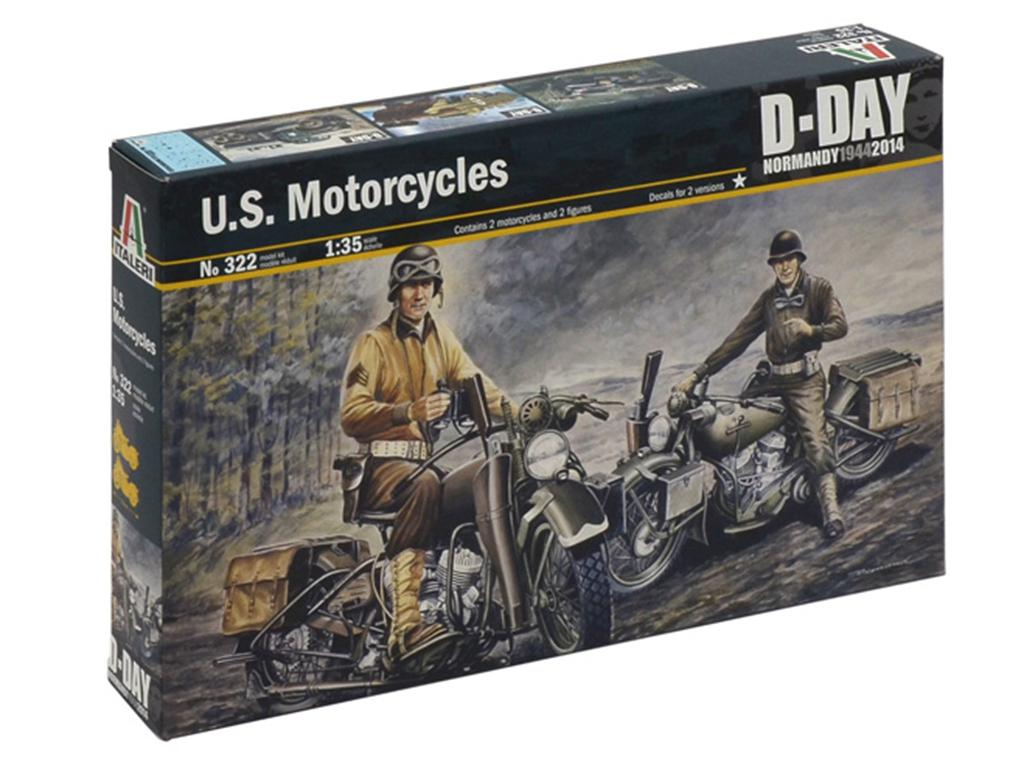 U.S. Motorcycles WW2  (Vista 1)