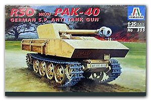 Steyr RSO SPG with Pak-40 - Ref.: ITAL-00355