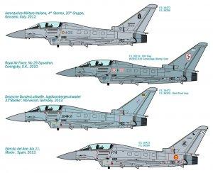 EF 2000 Typhoon IIB  (Vista 3)