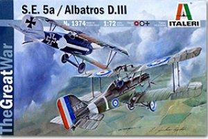 S.E.5a / Albatros D.III  (Vista 1)