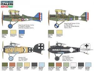 S.E.5a / Albatros D.III  (Vista 2)