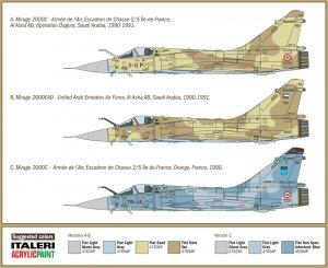 Mirage 2000C - Gulf War 25th Anniversary  (Vista 3)